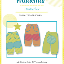 Waldemar kinderbroek farben mix patroon